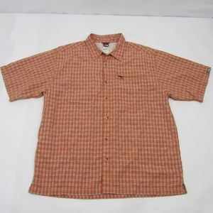 The North Face Modial Short Sleeve Shirt L Plaid